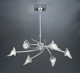 Very Good Condition this Lovely Modern Ceiling Mantra Light Fitting.
