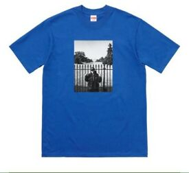 Supreme x public enemy x undercover White House tee