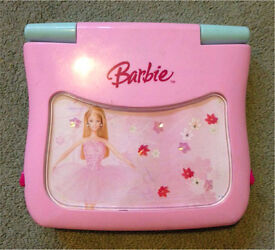 Kids barbie laptop