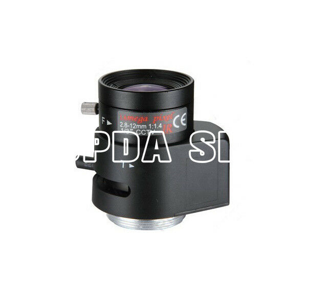 "RV02812D.IR 160W 1/3"" F1.4 2.8-12mm CS Manual Iris industrial camera Lens#SS"