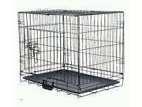 Dog cage training transport