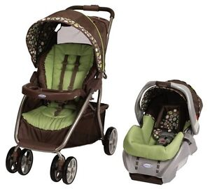 Graco-Dynamo-Lite-Baby-Stroller-SnugRide-Car-Seat-Travel-System-Shout
