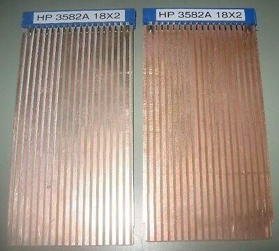 Hp Agilent 18x2 Extender 2 Board Set Hp 3582a Spectrum Analyzer Riser Kit Form