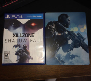 PS4 KILLZONE SHADOW FALL/COD GHOST CASE HARDENED BRAND NEW