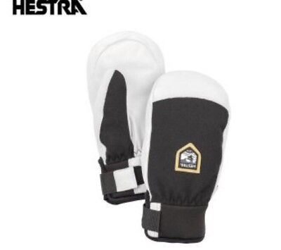 Hestra Army Leather Patrol Junior Mittens.  T