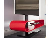 TECHLINK OVID TV EVO GLOSS RED EX DISPLAY TV STAND