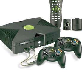 WANTED Original Xbox consoles / games