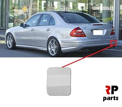 MERCEDES MB E CLASS W212 AMG REAR TOW HOOK EYE COVER PAINTED BY YOUR COLOUR CODE