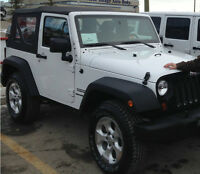 Jeep JK Tires and Rims with TPMS