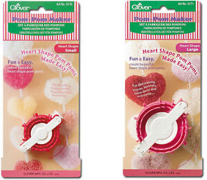 2 Clover Heart  Pom Pom Makers(Small) 2