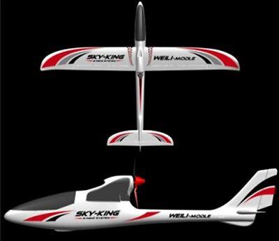 """RC 3 Kanal Flugzeug """"WL Toys F959"""" Elektro Glider - 2,4 GHZ - RTF"""