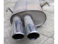 Vauxhall Vectra B GSI Cat-back straight-through one piece exhaust