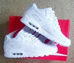 BRAND NEW WHITE LEATHER AIR MAX 90!!!