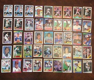 Mlb Baseball 45 Card Lot Sports Trading Card Collectible Shoptradingcards Com
