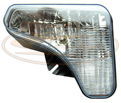 Bobcat S650 Left Headlight Lamp With Bulbs Lens Light Skid Steer Loader
