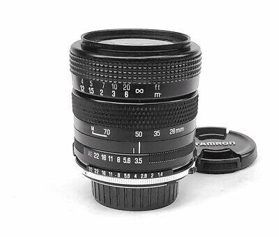 Beautiful Minolta MD Mount 28-70mm f/3.5-4.5 Macro Zoom Lens by Tamron, EX++