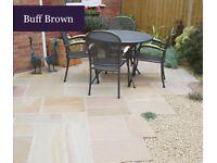 Global stone buff brown slabs