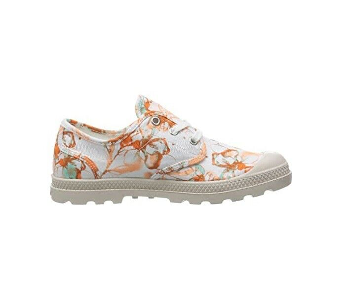 Palladium Womens Pampa Oxford Lp 93828-926-M Comfort Shoes White UK 5
