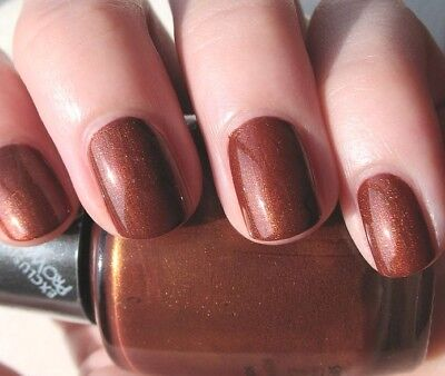 OPI Nail Polish Lacquer Enamel Varnish 6R1 Talk Of The Town Brown 15ml NEW!