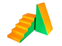 STEPS and SLIDE from IGLU - 2x 50x50x100cm shapes - NEW - Free Delivery