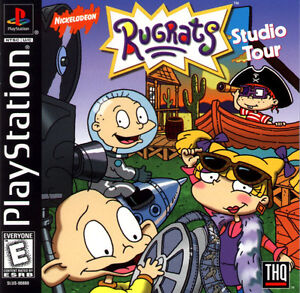 Rugrats-Studio-Tour-PS1-Great-Condition-Complete-Fast-Shipping