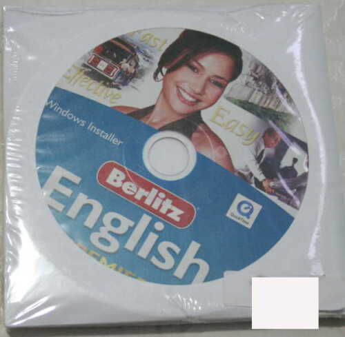 Berlitz English Premier, 7 PC CD-ROMs, All New and Sealed, Discs only