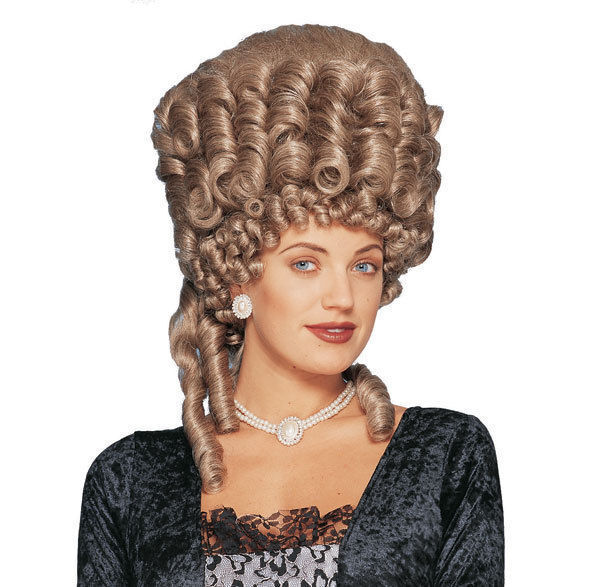 1830s Early Victorian Biedermeier Era Wig
