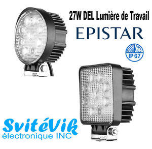 DEL HORS ROUTE/LAMPE DE TRAVAIL/OFF ROAD LED/WORK LIGTH