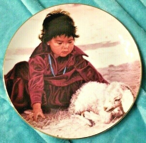 SWANSON PLATE - THE PROUD NATION - JUST A FEW DAYS OLD - 1988 PLATE W/ CERT