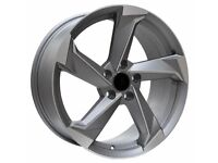 """19"""" A9 Concept (NEW TTRS) Alloy Wheels & Tyres. Suitable for most Audi A4, A5 & A6 (5x112)"""