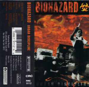 Biohazard - Urban Discipline on cassette