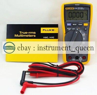 Fluke 117c 117 Havc Voltalert Backlight Multimeter Brand New F117c