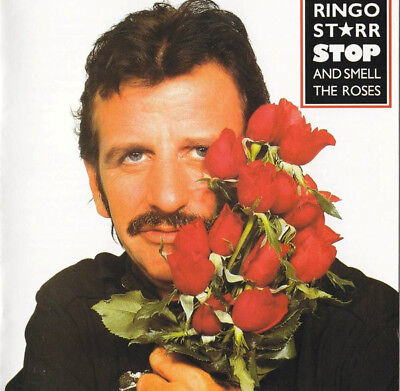 Ringo Starr    Stop And Smell The Roses Cd Jewel Case