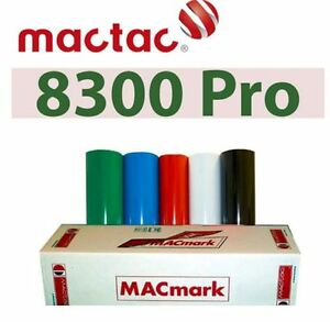 MACtac 8300 12 x 5yds Permanent Adhesive Vinyl OUT DOOR OVER 6Y