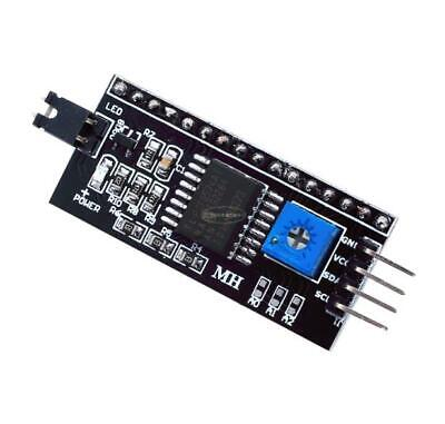 1pcs Lcd1602 Iic I2c Serial Interface Asjustable Board Module Adapter Plate