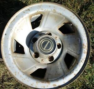 Four steel Ford rims
