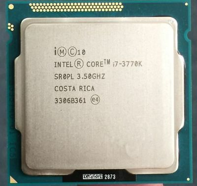Used, Intel i7 3770K Quad Core LGA 1155 3.5GHz 8MB Cache TDP 77W Desktop CPU for sale  Austin