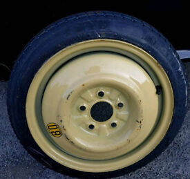 MAZDA 6 2002 Sport Space Saver Wheel with Cover (*Never Used*) Very Good Condition.
