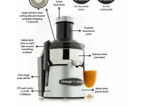 Juicer Omega Mega mouth model No. BMJ392