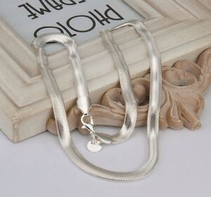 Brand new 6mm sterling silver snake chain 16inch