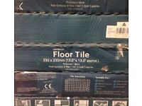 5 pack ceramic floor tiles