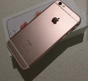Iphone 6s 16G rose gold. Bell