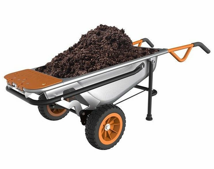 WG050 WORX AeroCart: 8-in-1 Multi-Function WheelBarrow Garde
