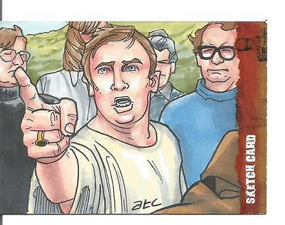 The Wicker Man Sketch Card created by ATC Adam Cleveland [ 2 ] ()
