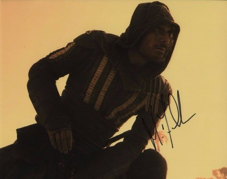Michael Fassbender Assassin's Creed Autographed Signed 8x10 Photo COA #10