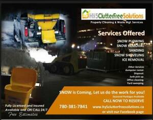 Property Cleaning, Snow Maintenance and Disposal