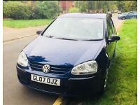 VW Golf Mk 5 Sports blue