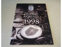 Sainsbury's ENGLAND Official Football 1998 World Cup Coin Medal Collection