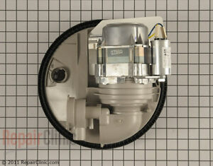 Dishwasher Motor and Sump Assy, W10237169, WPW10780877