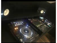 Pair of CDJ 2000 Nexus MK1 with Xone 62 Allen & Heath mixer